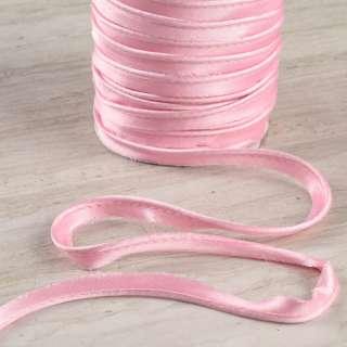 Кант атласный 11мм розовый