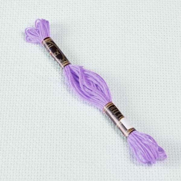 Мулине Bestex 155 8м, Сине-фиолетовый, средний тёмный