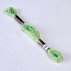 Мулине Bestex 164 8м, Зеленый лесной, светлый