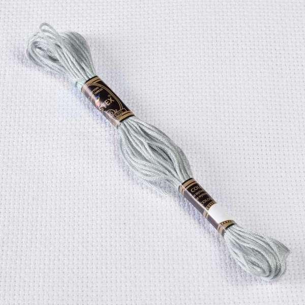 Мулине Bestex 168 8м, Оловянный, очень светлый