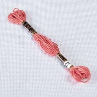 Мулине Bestex 223 8м, Розовых ракушек, светлый
