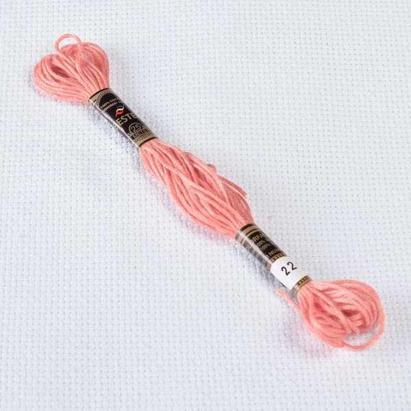 Мулине Bestex 224 8м, Розовых ракушек, очень светлый