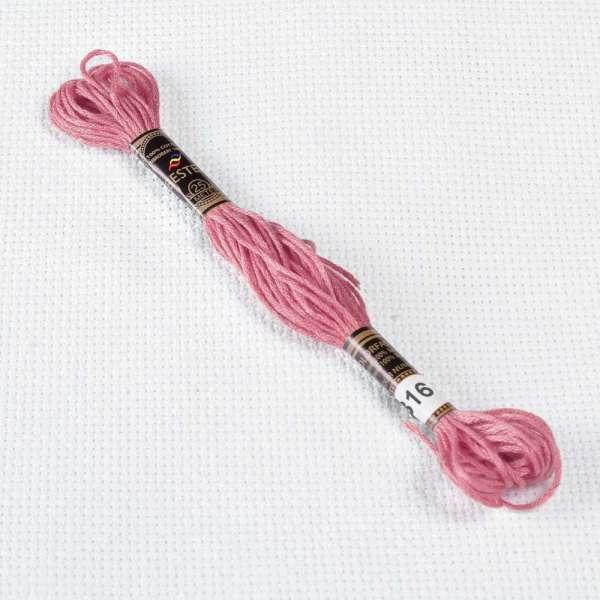 Мулине Bestex 316 8м, Античный розовато-лиловый, средний тёмный