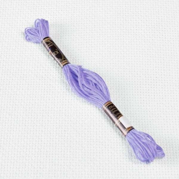 Мулине Bestex 340 8м, Сине-фиолетовый, средний