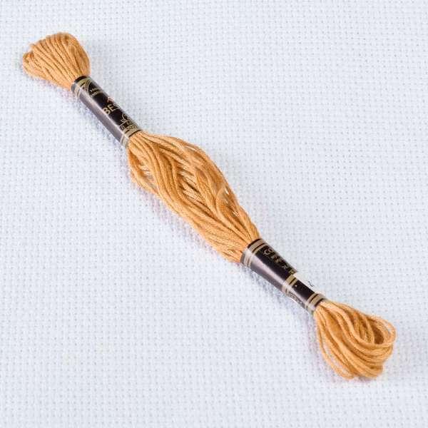 Мулине Bestex 437 8м, Желто-коричневый, светлый