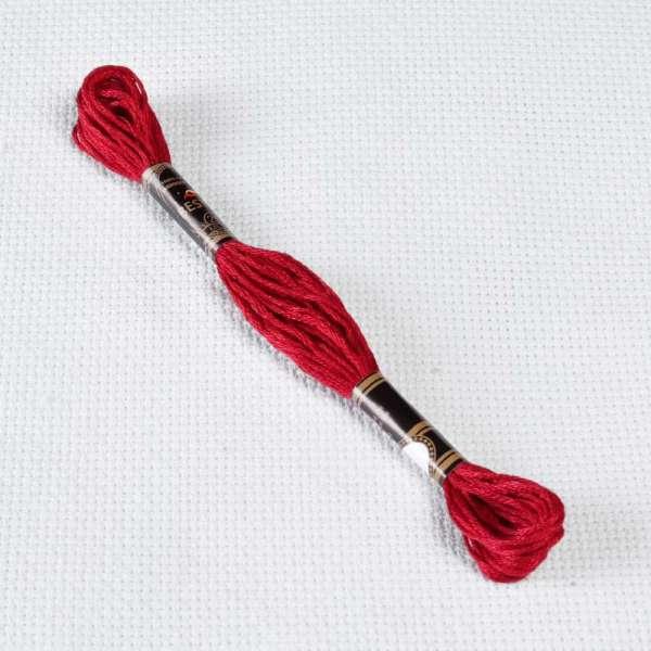 Мулине Bestex 498 8м, Рождественский красный, тёмный