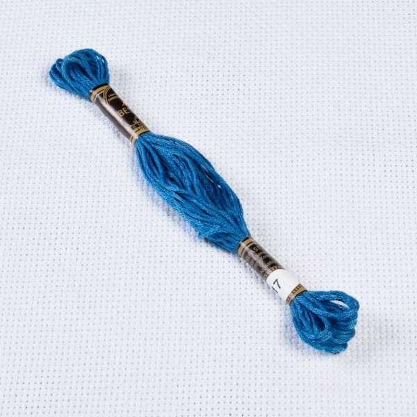 Мулине Bestex 517 8м, Пыльно-синий, тёмный