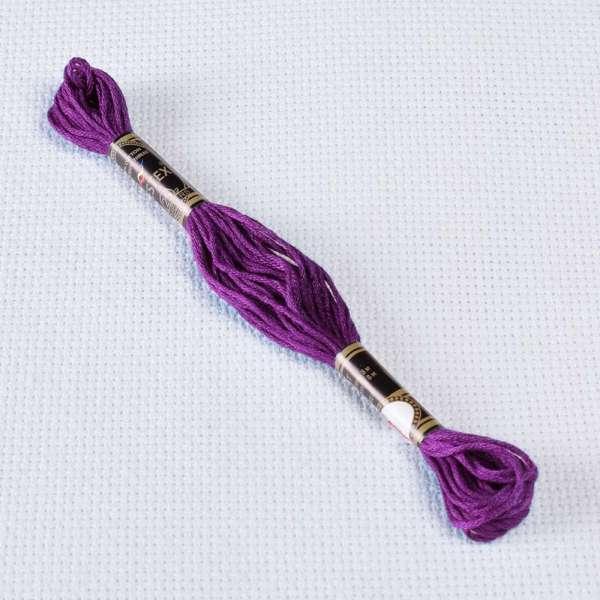 Мулине Bestex 550 8м, Фиолетовый, очень тёмный