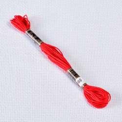 Мулине Bestex 666 8м, Рождественский красный, яркий