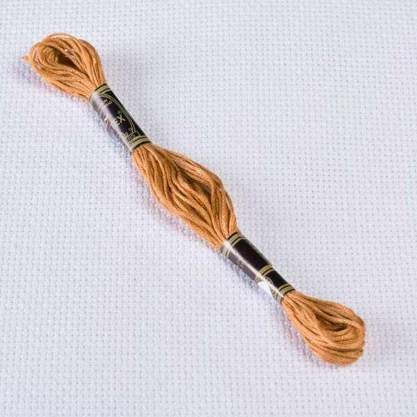 Мулине Bestex 680 8м, Старого золота, тёмный