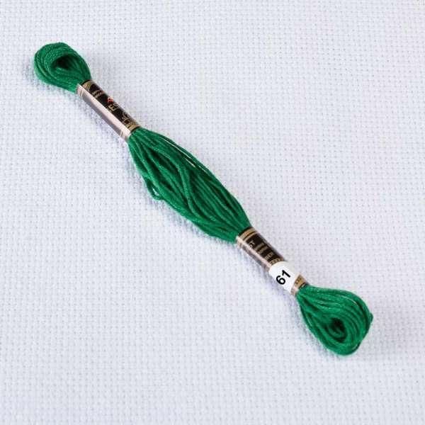Мулине Bestex 699 8м, Рождественский зеленый