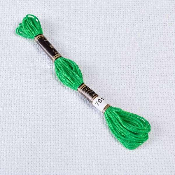 Мулине Bestex 701 8м, Рождественский зеленый, светлый