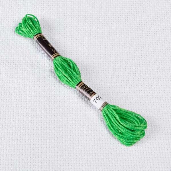 Мулине Bestex 702 8м, Мутновато-зеленый