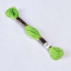 Мулине Bestex 704 8м, Бледно-зеленый, яркий