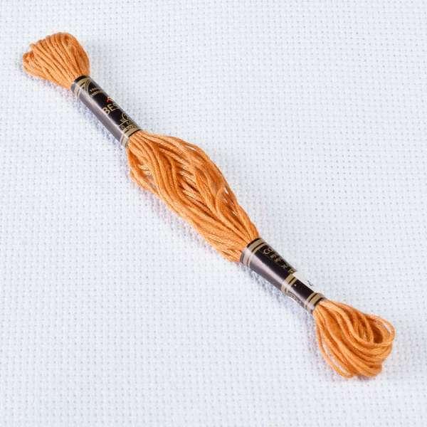 Мулине Bestex 729 8м, Старого золота, средний
