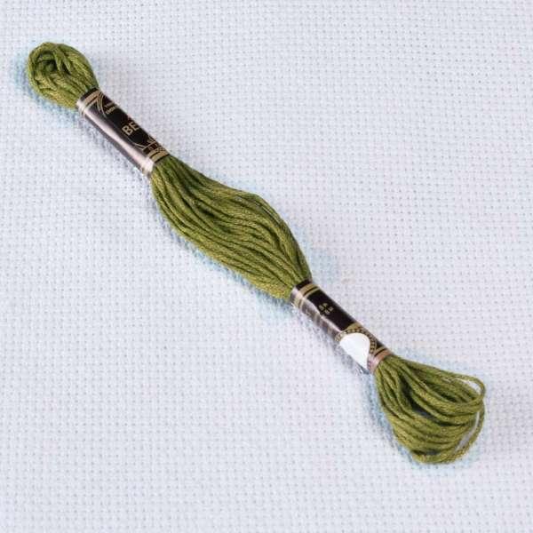 Мулине Bestex 730 8м, Оливково-зеленый, очень тёмный