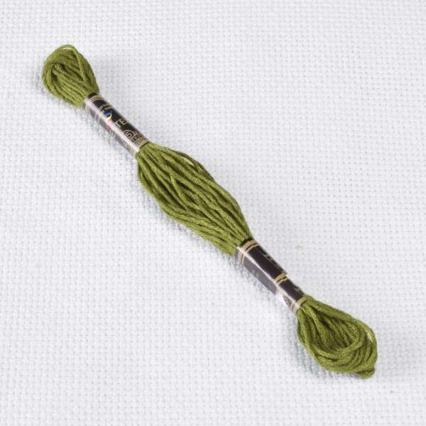 Мулине Bestex 732 8м, Оливково-зеленый
