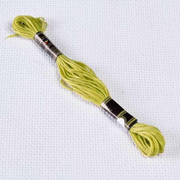 Мулине Bestex 734 8м, Оливково-зеленый, светлый