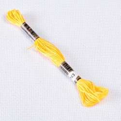 Мулине Bestex 743 8м, Желтый, средний