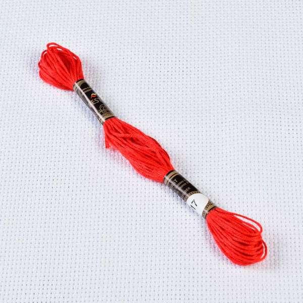 Мулине Bestex 817 8м, Кораллово красный, очень тёмный
