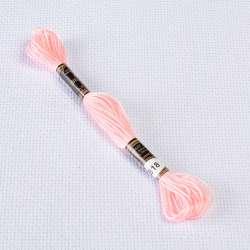Мулине Bestex 818 8м, Нежно розовый
