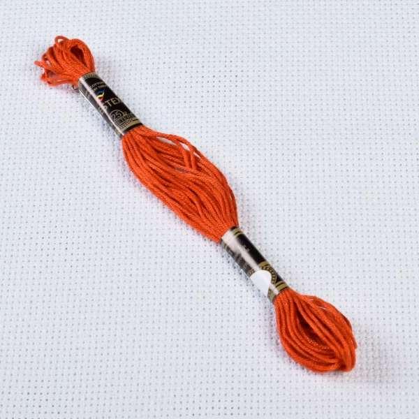 Мулине Bestex 900 8м, Оранжево-жженый, тёмный