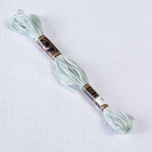 Мулине Bestex 928 8м, Серо-зеленый, очень светлый