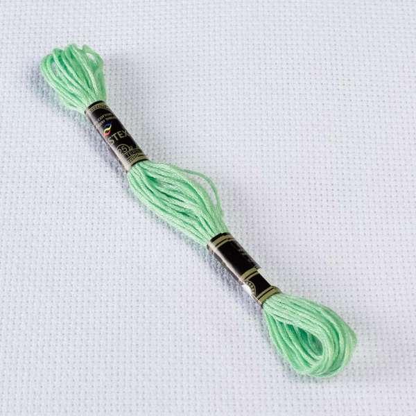 Мулине Bestex 966 8м, Нежно зеленый, средний