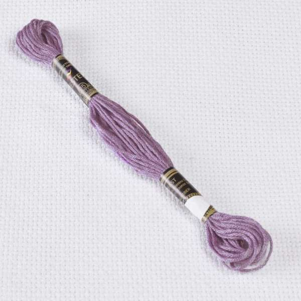Мулине Bestex 3042 8м, Антично фиолетовый, светлый