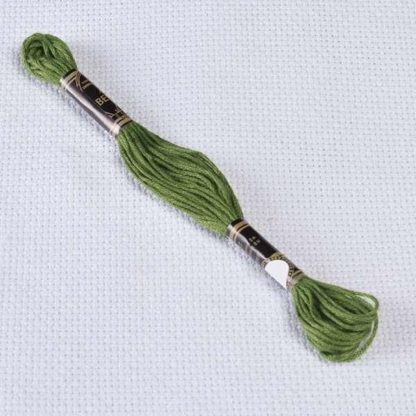 Мулине Bestex 3346 8м, Защитный, грязновато зеленый