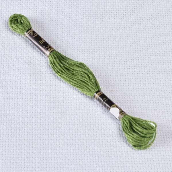 Мулине Bestex 3347 8м, Желто-зеленый, средний