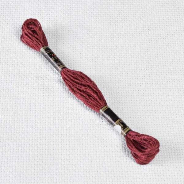 Мулине Bestex 3721 8м, Розовых ракушек, тёмный