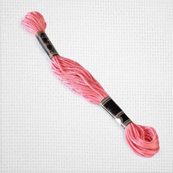 Мулине Bestex 3806 8м, Розового цикламена, светлый