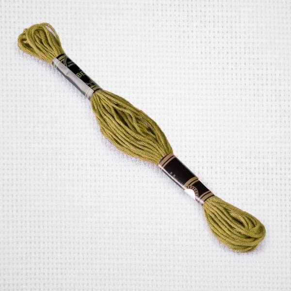 Мулине Bestex 3829 8м, Старого золота, очень тёмный