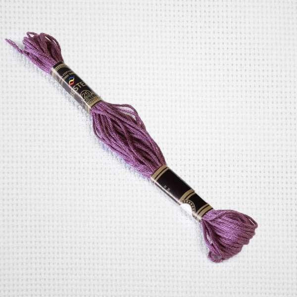 Мулине Bestex 3835 8м, Красного винограда, средний