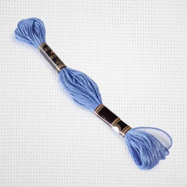 Мулине Bestex 3839 8м, Лавандово-синий, средний