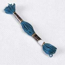 Мулине Bestex 3842 8м, Пыльно-синий, тёмный