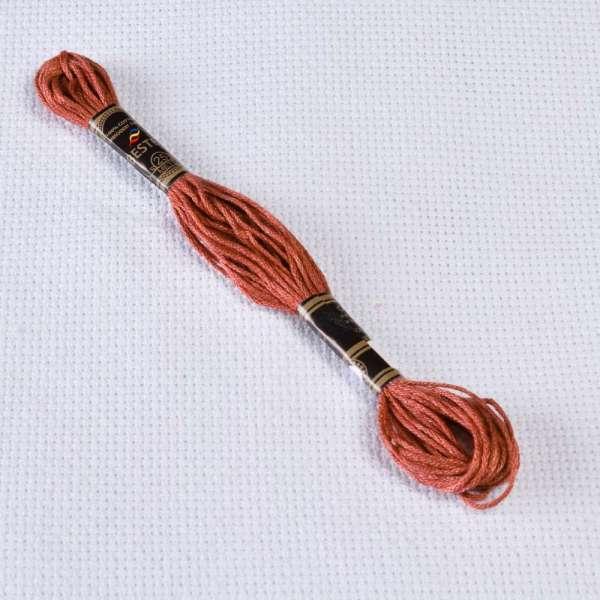 Мулине Bestex 3858 8м, Розового дерева, средний