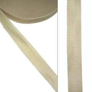 Клеевая для брюк 24мм бежевая