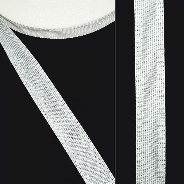 Клеевая для брюк 2,4 см белая