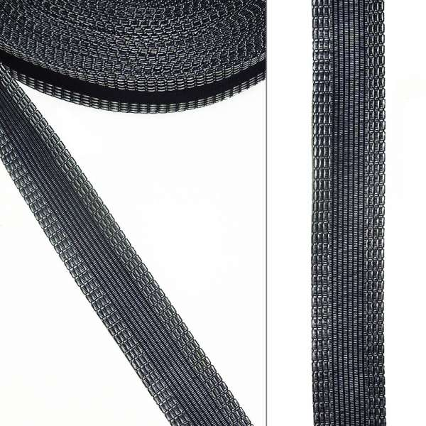 Клеевая для брюк 24мм синяя темная