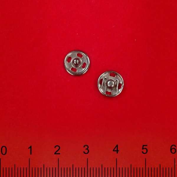 Кнопка металлическая 9,5 мм