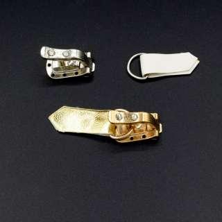Крючек шубный металл кожзам со стразами золотистый белый