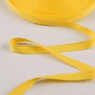 Лента киперная 15мм желтая 14В22Г27