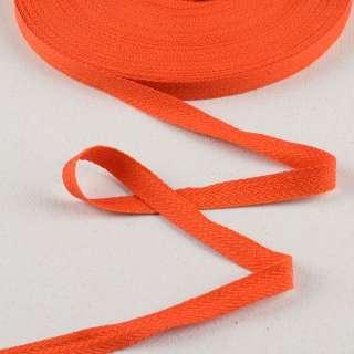 Лента киперная 15мм оранжевая 14В22Г27