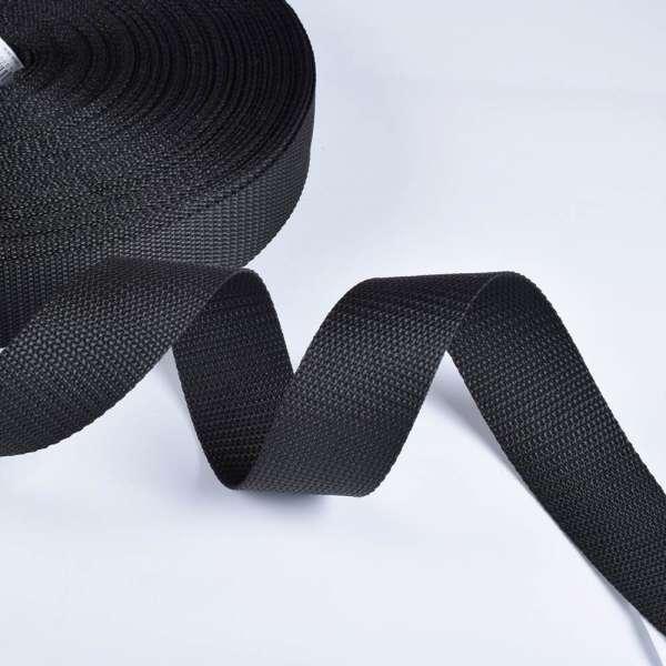 Лента ременная 40мм черная 02В26Г27