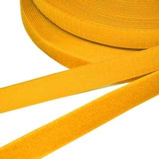 Лента липучка 25мм оранжево-желтая №17