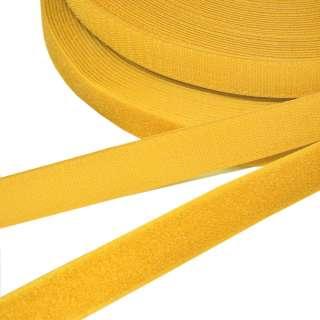 Лента липучка 25мм желто-оранжевая №27