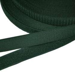 Лента липучка 23мм зелено-черная  №32