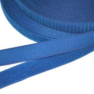 Лента липучка 25мм сине-голубая №39